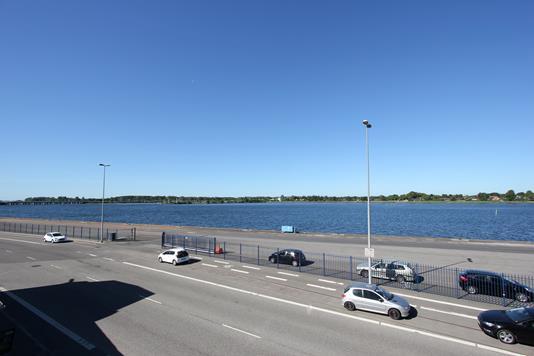 Ejerlejlighed på Havnepladsen i Nykøbing F - Udsigt