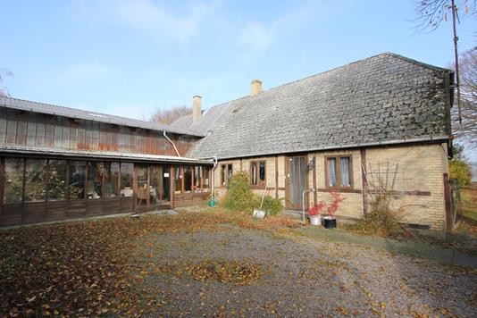 Villa på Nystedvej i Sakskøbing - Ejendommen
