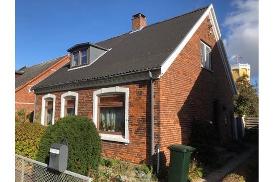 Villa på Langgade i Gedser - Ejendommen