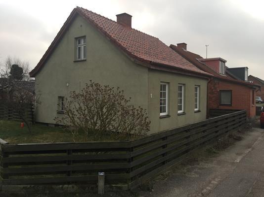 Villa på V. Voldgade i Gedser - Ejendommen