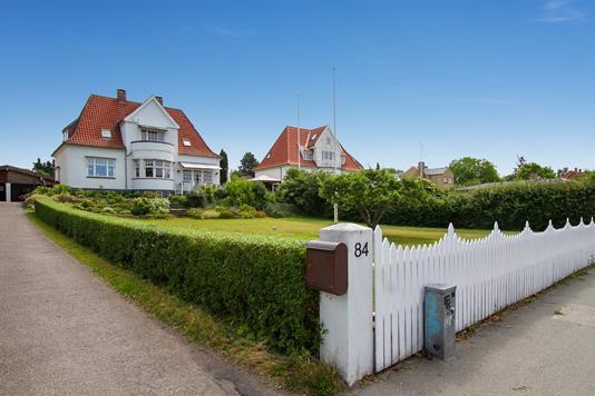 Villa på Frederiksborgvej i Roskilde - Ejendommen