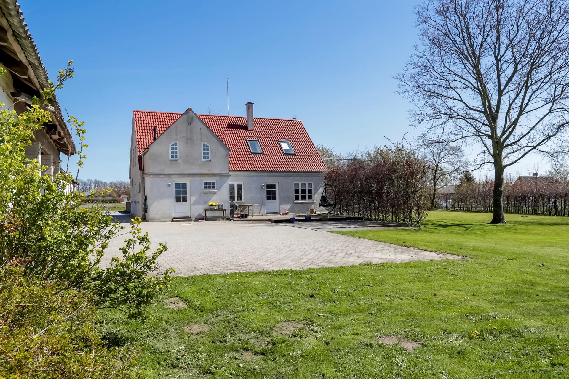 Landejendom på Brordrupvej i Roskilde - Ejendommen