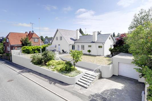 Villa på Frederiksborgvej i Roskilde - Facade