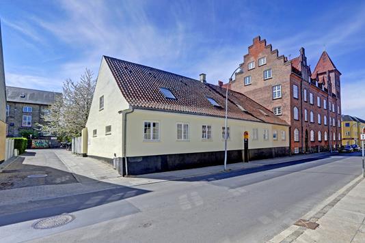 Rækkehus på Bredgade i Roskilde - Ejendommen