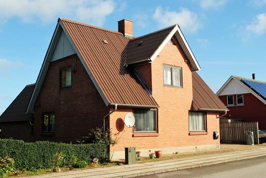 Villa på Bredgade i Lem St - Ejendommen