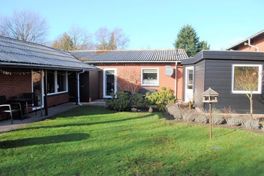 Villa på Skovbrynet i Ringkøbing - Have