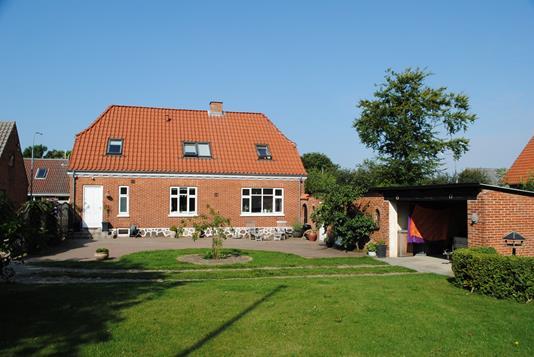 Villa på Kirkegade i Lem St - Ejendommen