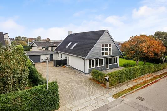 Villa på Heboltoft i Ringkøbing - Mastefoto