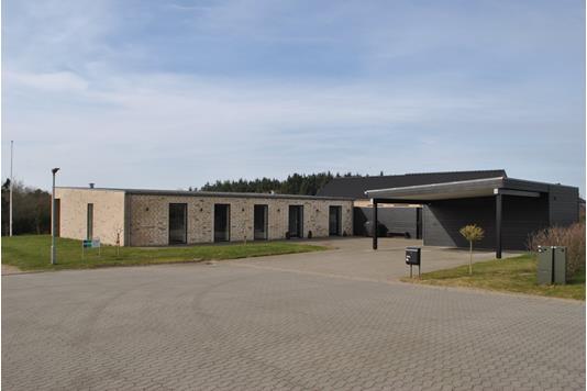 Villa på Blæsenborg Alle i Ringkøbing - Facade