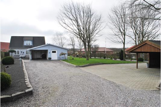 Villa på Byvejen i Ringkøbing - Facade