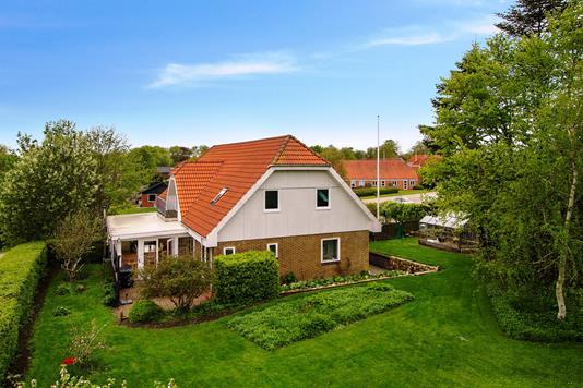 Villa på Tovstrupvej i Spjald - Ejendommen