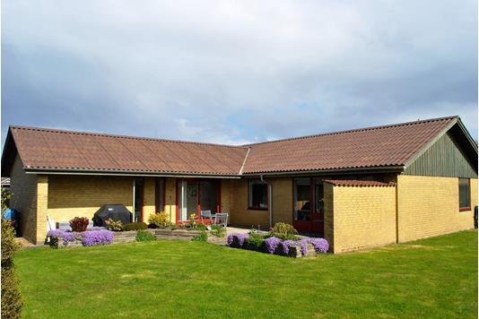 Villa på Parkvej i Ringkøbing - Facade havesiden