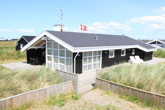 Fritidsbolig på Sand Holms Vej i Ringkøbing - Facade