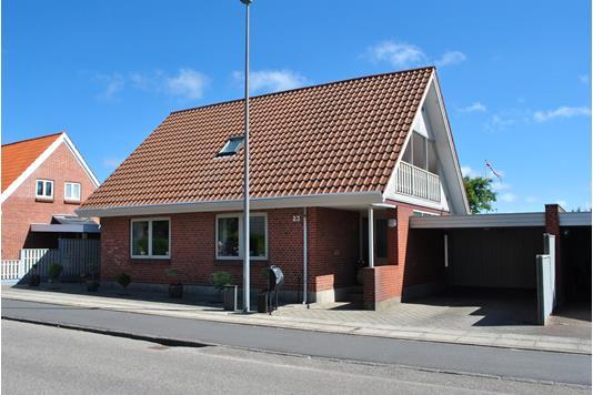 Villa på Vellingvej i Ringkøbing - Facade
