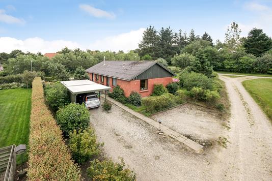 Villa på Trøstrupvej i Tim - Mastefoto