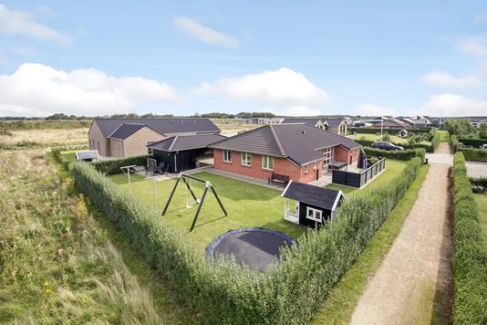 Villa på Havremarken i Ringkøbing - Mastefoto