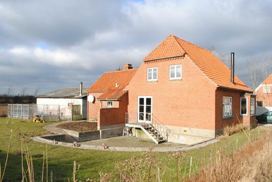 Villa på Holstebrovej i Ringkøbing - Ejendommen