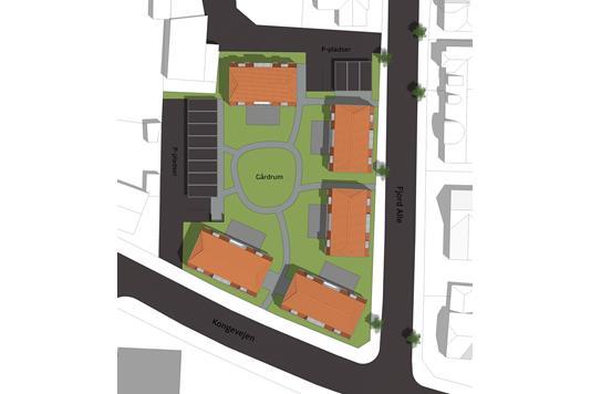 Ejerlejlighed på Kongevejen i Ringkøbing - Visualisering