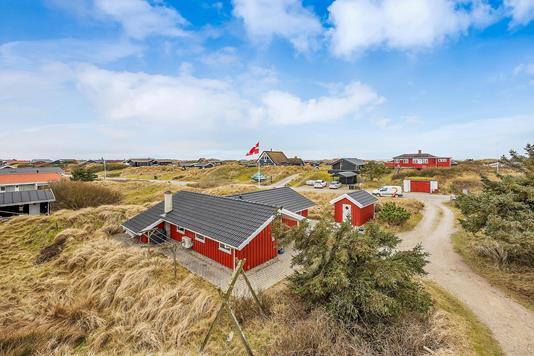 Fritidsbolig på Slunden i Fanø - Ejendommen