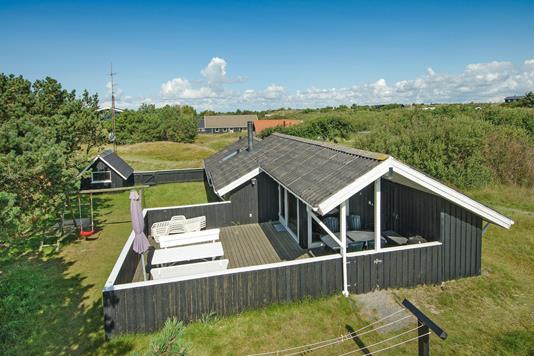 Fritidsbolig på Sønder Meldbjergdal i Fanø - Ejendommen