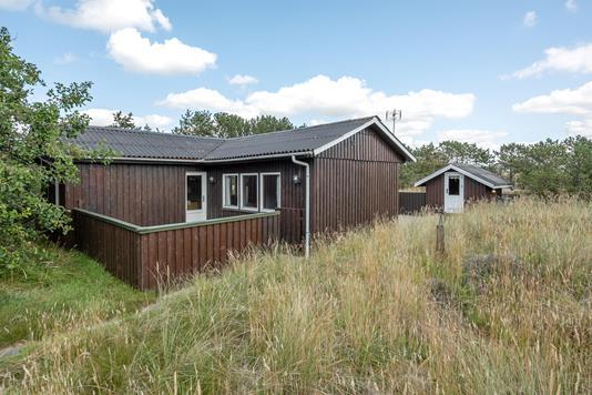 Fritidsbolig på Sønder Kirketoft i Fanø - Ejendommen