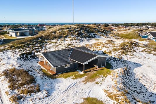 Fritidsbolig på Bakken i Fanø - Luftfoto