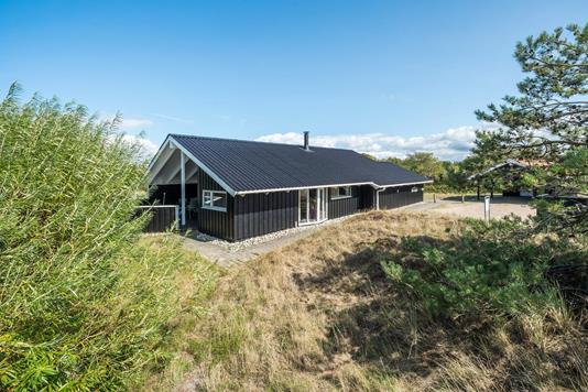 Fritidsbolig på Norges Fjelde i Fanø - Facade