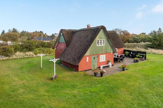 Villa på Sønderho Strandvej i Fanø - Ejendommen