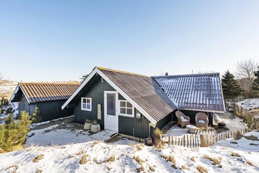 Fritidsbolig på Lodne Bjerge i Fanø - Ejendommen