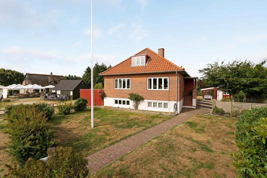 Villa på Landevejen i Fanø - Ejendommen