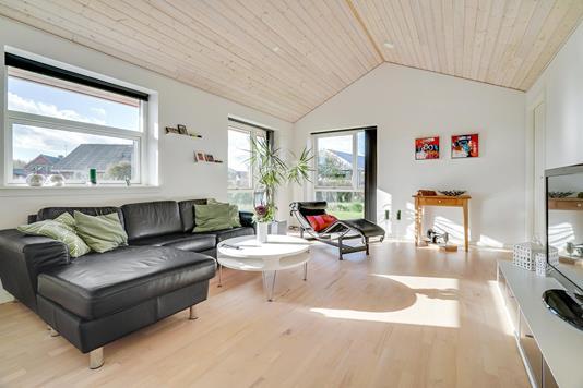 Villa på Vangled i Fanø - Stue