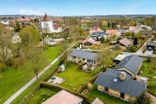 Villa på Åbakken i Mårslet - Område