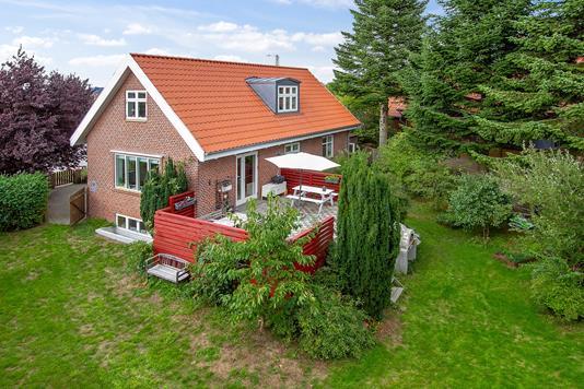 Villa på Christian X's Vej i Højbjerg - Set fra haven