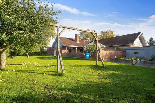 Villa på Skåde Højgårdsvej i Højbjerg - Have