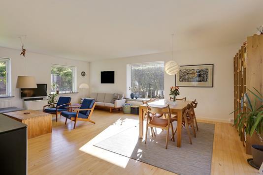 Villa på Alphavej i Højbjerg - Stue