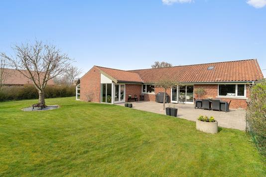 Villa på Horsevænget i Tranbjerg J - Set fra haven