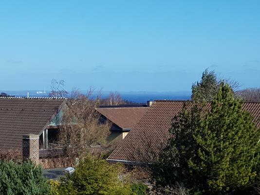 Villa på Teglbakken i Højbjerg - Udsigt