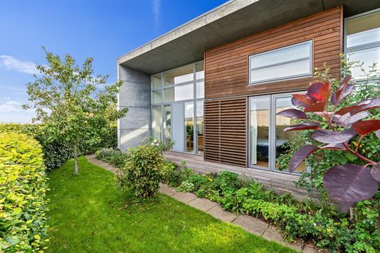 Villa på Holme Parkvej i Højbjerg - Set fra haven