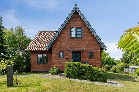 Villa på Holmevej i Højbjerg - Set fra haven