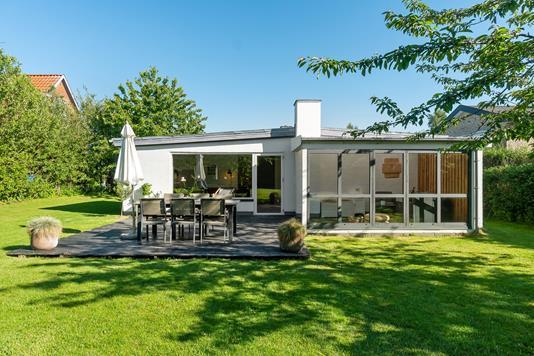 Villa på Guldbjergvej i Højbjerg - Terrasse