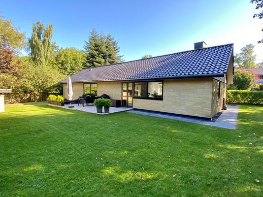 Villa på Emiliedalsvej i Højbjerg - Facade