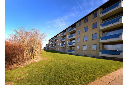 Ejerlejlighed på Emiliehøj i Højbjerg - Set fra haven