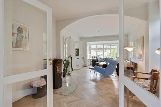 Villa på Højmarkvej i Højbjerg - Stue