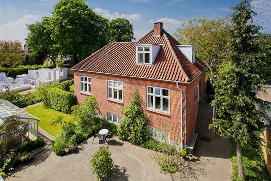 Villa på Libravej i Højbjerg - Set fra haven