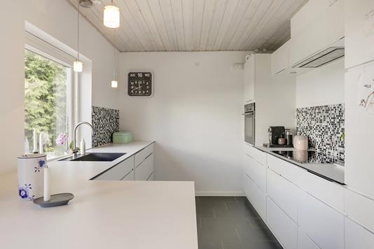 Villa på Runegårdsvej i Højbjerg - Køkken