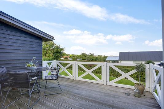 Villa på Runegårdsvej i Højbjerg - Terrasse