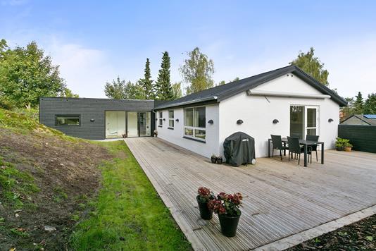 Villa på Elverdalsvej i Højbjerg - Terrasse