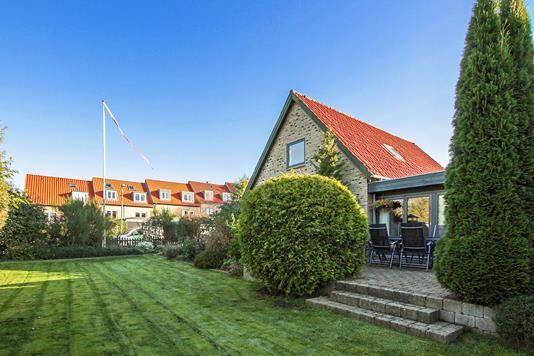 Villa på L.A. Rings Vej i Højbjerg - Set fra haven