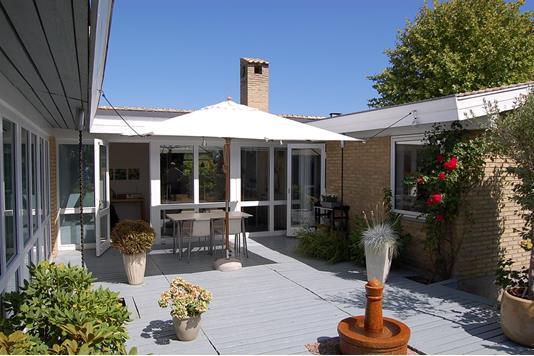 Villa på Bakkelodden i Mårslet - Terrasse