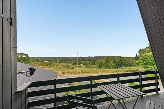 Villa på Villavej i Langå - Område